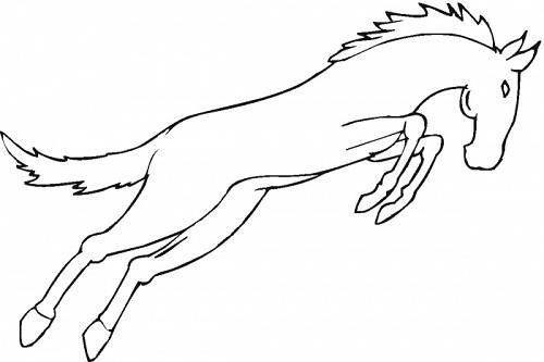 Coloring Pages Horse Coloring Pages Free and Printable