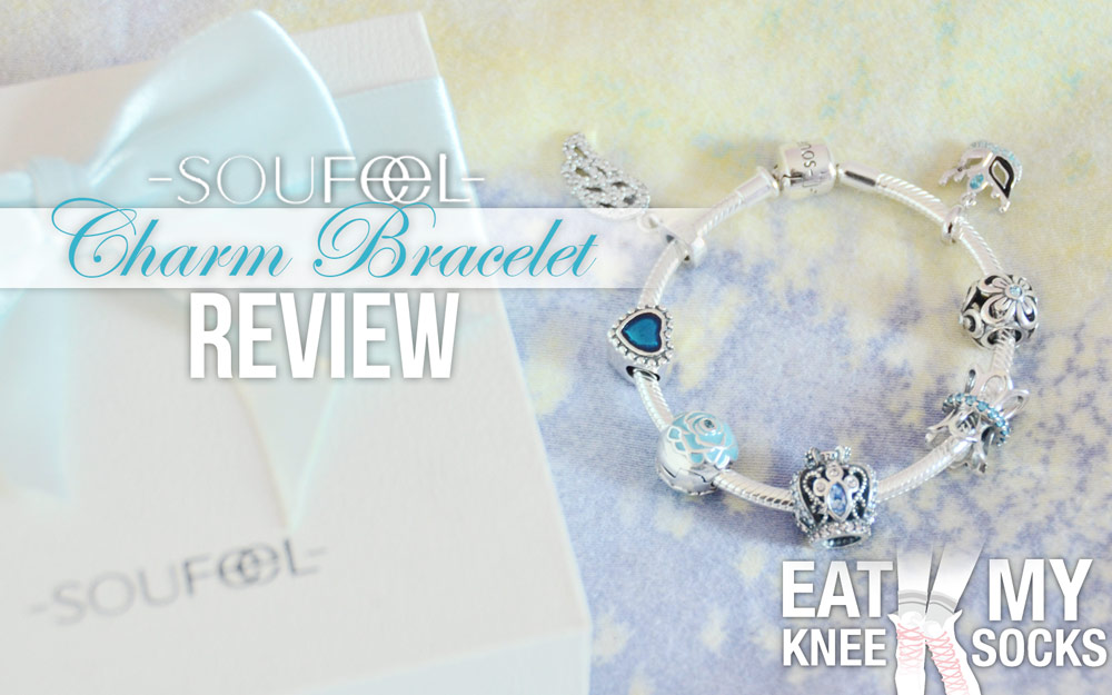 The EatMyKneeSocks intro picture for the Soufeel charm bracelet review!