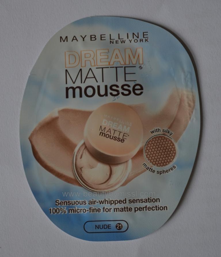 Maybelline Dream Matte Mousse Foundation