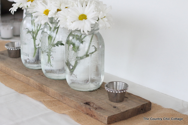 Wedding ideas reception table decor with davidtuteradiy for Simple wedding reception table decorations