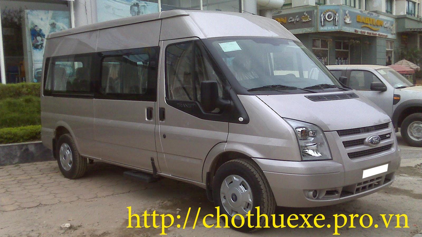 Cho thuê xe đưa đón khách du lịch xe 16 chỗ đẹp, sang, rẻ
