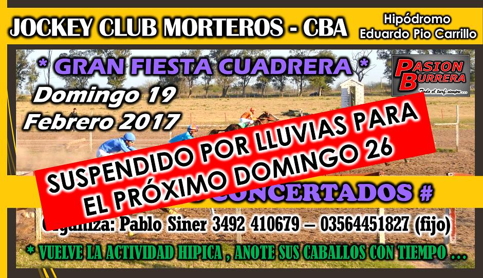 MORTEROS - 19 FEBRERO
