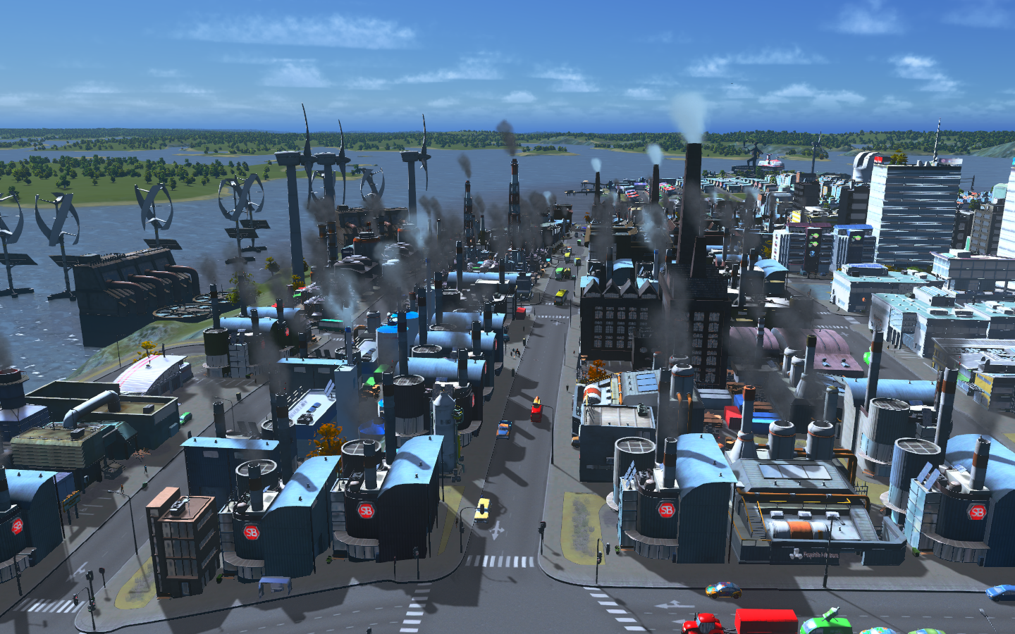 how to build oil city skylines