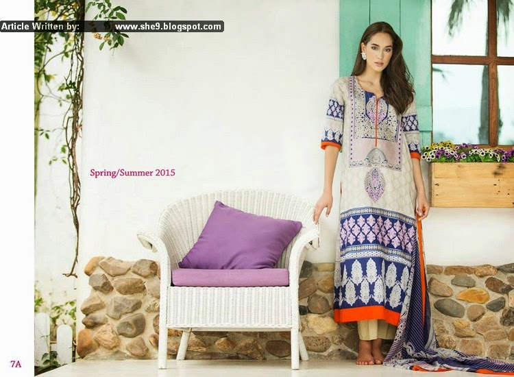 Ayesha Zara Spring Summer Collection 2015