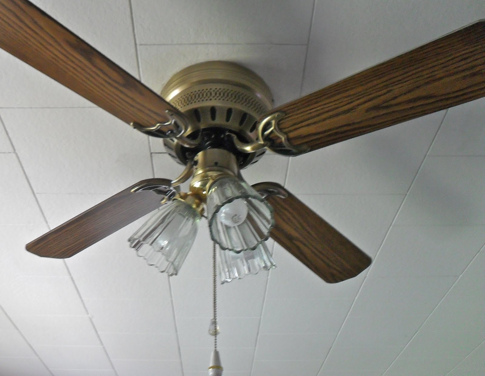 Living Room Ceiling Fans : The remodeled life shining light