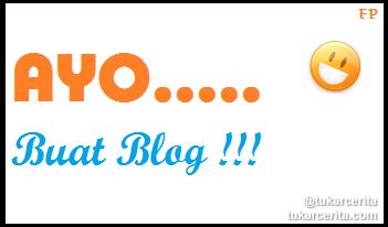 Ayo Buat Blog