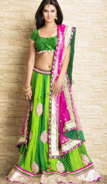 Jennifer-winget-lehenga-saree-photoshoot-Meena-Bazaar