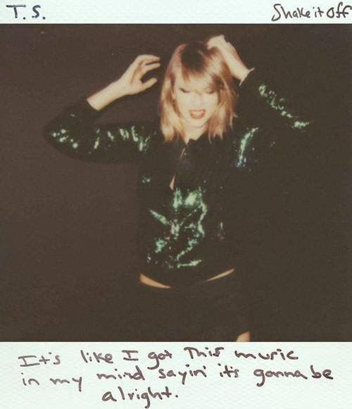 taylor swift shake it off copertina