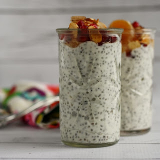 Chia Seed Breakfast Pudding by www.girlichef.com
