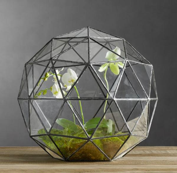 Invernaderos geometricos de cristal decoraci n - Invernaderos de cristal ...