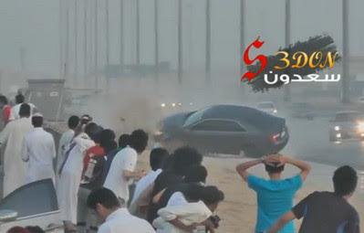 Video Kecelakaan Mobil di Arab Saudi