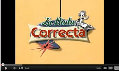 "VÍDEO TOUTUBE ""LA DIETA CORRECTA"""