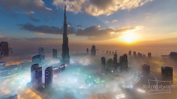 Espetacular Hiper TimeLapse de Dubai