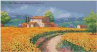 Schemi punto croce: 20 paesaggi in offerta