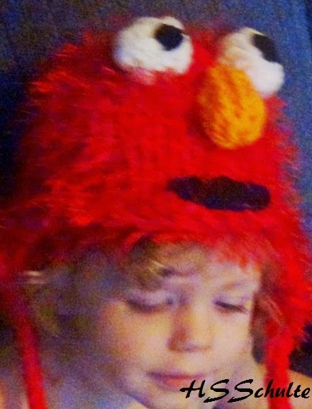 Elmo Hat Loom Knit