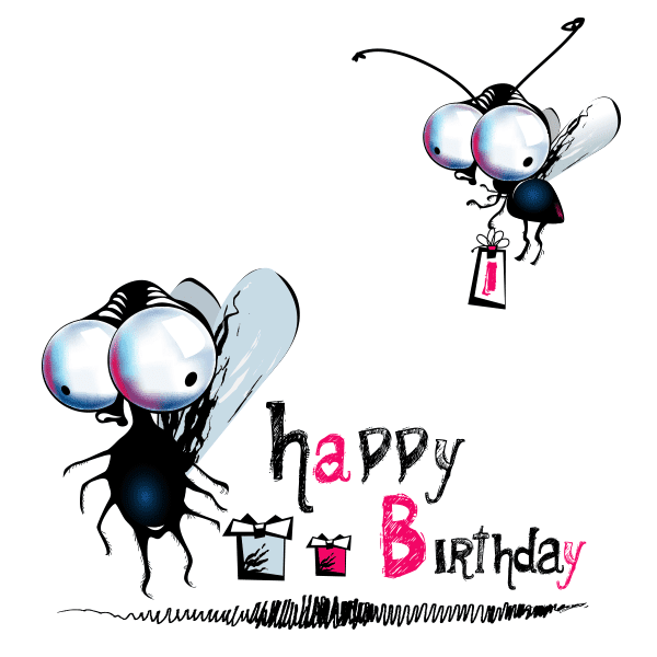 Birthday Flies