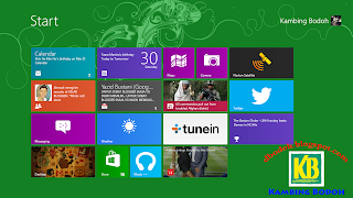 Free Download Windows 8 Professional Blue 32-bit Full Version