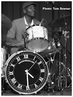 Kenny Beedy Eyes Smith on drums - Photo by Tom Bowser