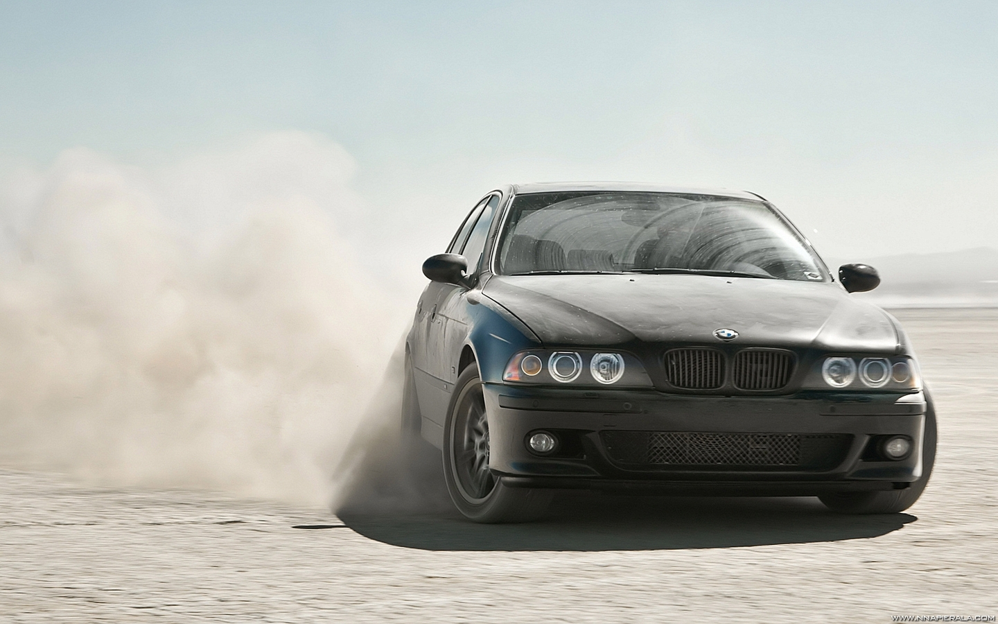 BMW Alpina Desert Drifting HD Wallpaper | Home of Wallpapers