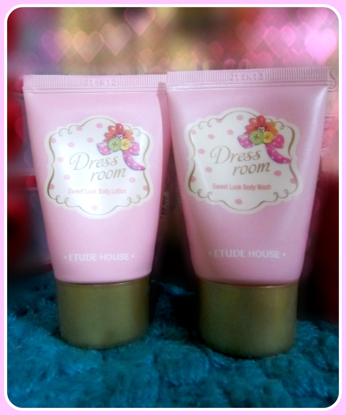 Etude House Dress Room Sweet Look Body Wash Lotion Two Paket Dan Shower Gel The Cute And Girly All Pink Packaging Is Signature Of Range One Most Famous Korean Brand