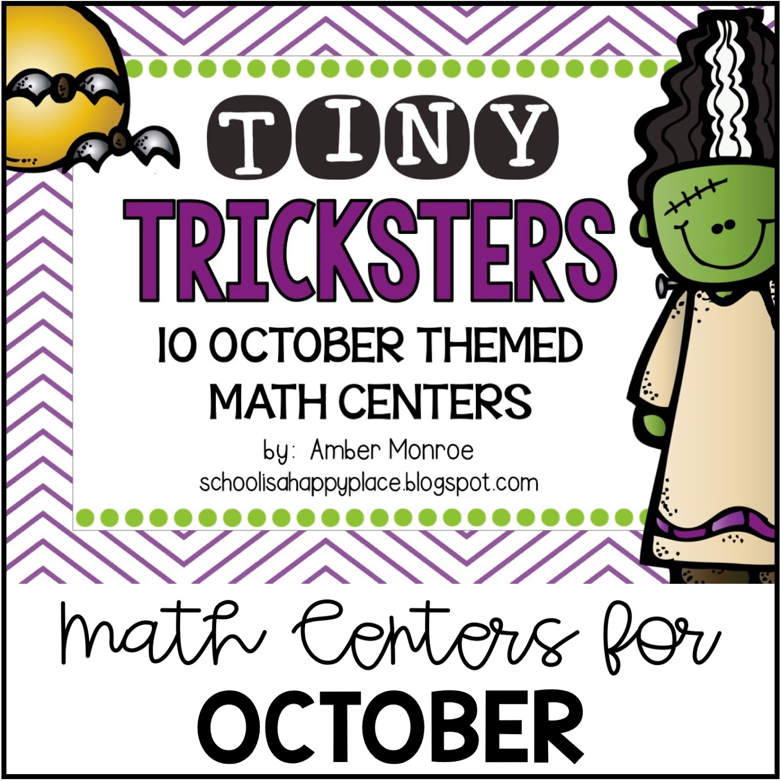Math Centers for October