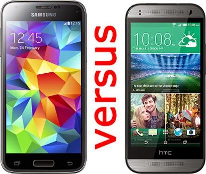 Galaxy S5 Mini vs HTC One Mini 2