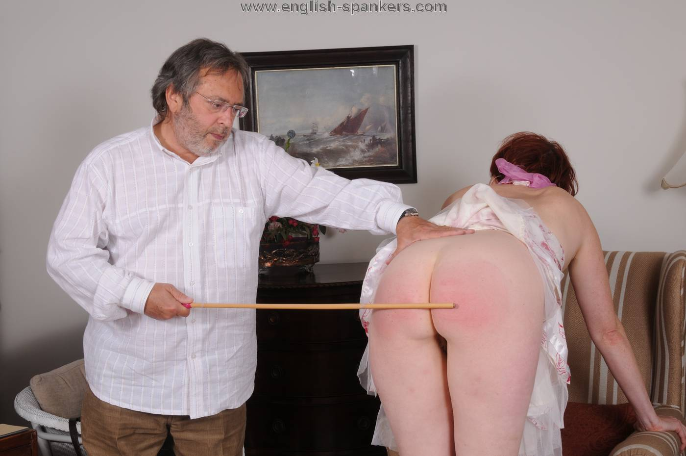 People who spank for money