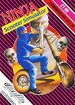 Ninja Scooter Simulator Commodore 64