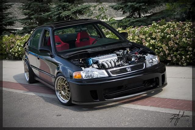 Honda Civic VI, sedan, domani conversion