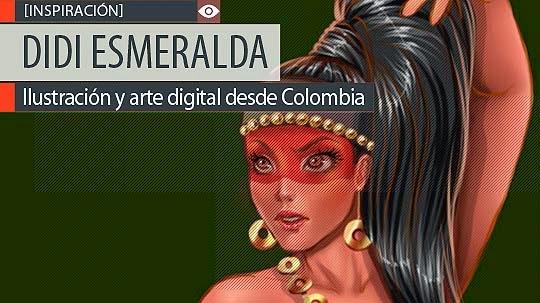 Ilustración y arte digital de DIDI ESMERALDA