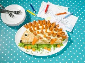 Revista padres cocina divertida para ni os sandwiches for Cocina divertida para ninos