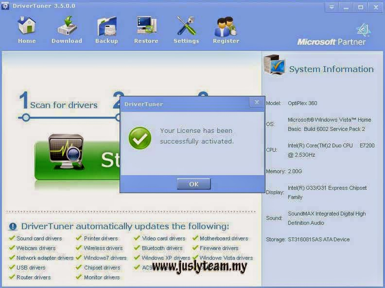 driver tuner 4.5 license key