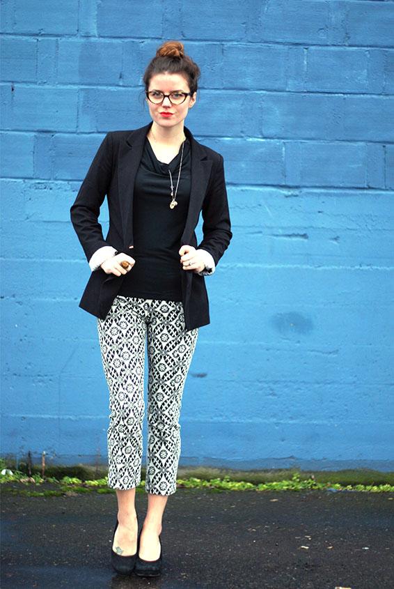 Fashion Street Style England Jade Rose Blog: Black and ...