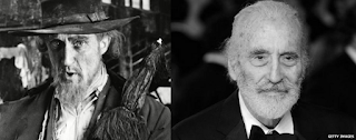 Ron Moody Christopher Lee