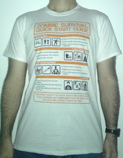 234 - zombie survival quick start guide come sopravvivere ad un attacco morti viventi qwertee