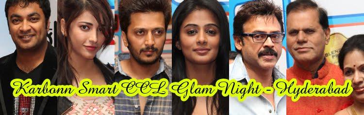 Karbonn Smart CCL Glam Night 2013 - Hyderabad