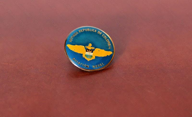 Broches o 'pin' de aviación - Armada República de Colombia - Aviación Naval