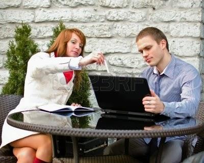 negocios al aire libre
