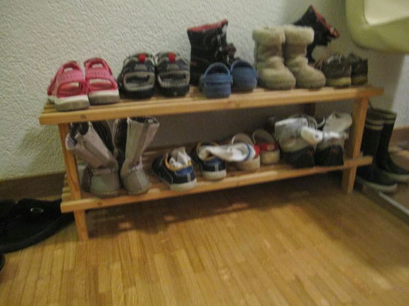 Ikea Shoe Rack Wood