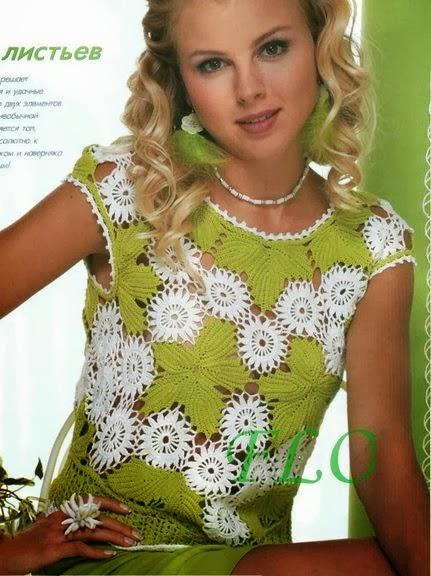 mis creaciones 25 blusas tejidas a crochet new style for