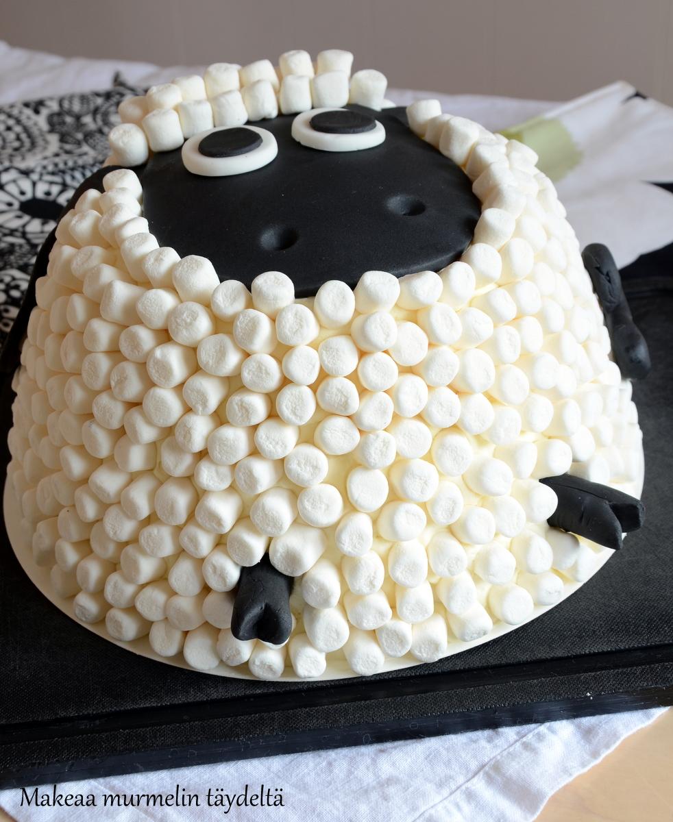 late lammas kakku vaahtokarkit