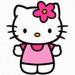 Hello Kitty es muy pequeña