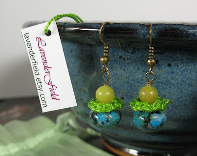 LavenderField.etsy.com crochet earrings