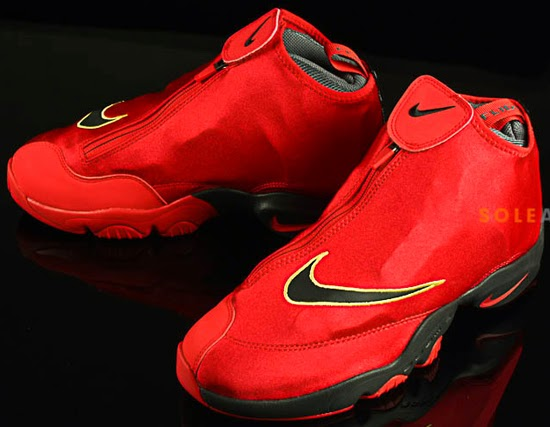 wholesale dealer efa72 90bf1 This Nike Air Zoom Flight The Glove colorway was made to pay homage to the  team Gary Payton won the NBA championship with, the Miami Heat.