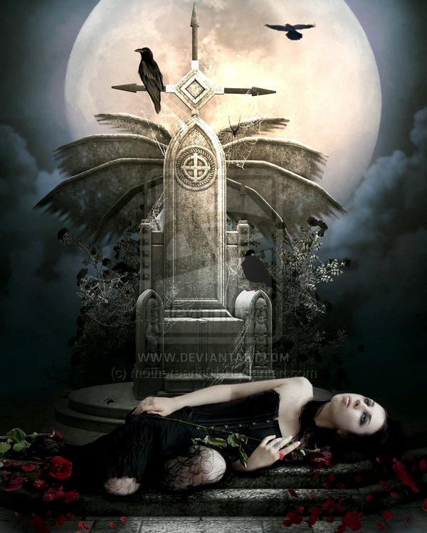 darkness falls by motherearth01 d36ymex Masterful Examples of Dark Photo Manipulation Art