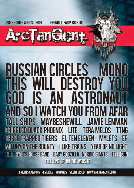 ArcTanGent 2014 festival line-up