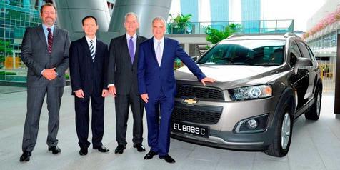 Perkuat Bisnis Regional, GM Resmikan Kantor Baru di Singapura