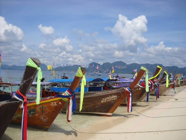 long tail boat krabi