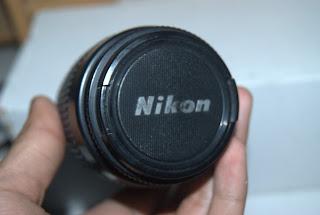 Lenscap lensa nikon