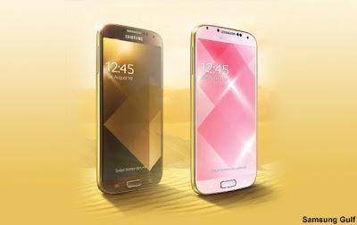Galaxy S4 de oro con blanco o con negro